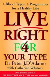 Live right for your type o